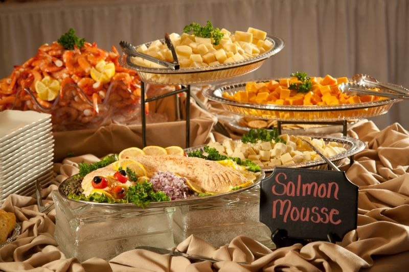 Tulsa Country Clubs Meadowbrook Events Salmon Mousse 0